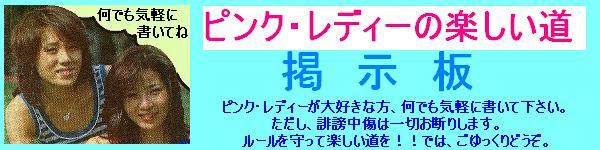 ピンク・レディーの楽しい道BBS
